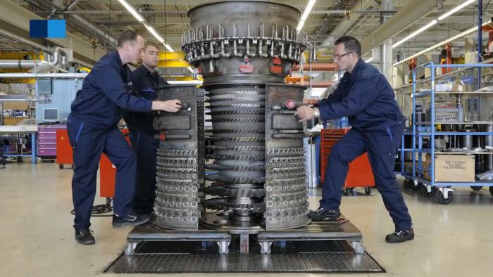 CF6 engine opened vimeo
