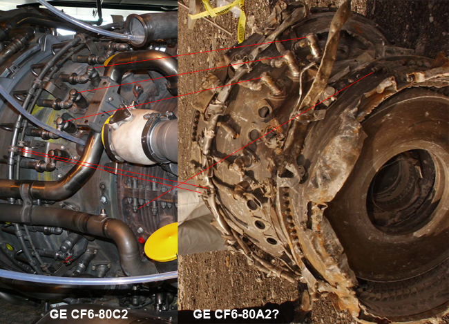 engine compare cf6-80c2 and landfill